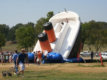 Titanic 33 Foot Slide