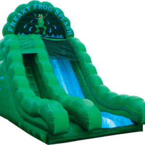 Freaky Frog Slide and Splash