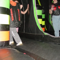 Inside the Lazer Tag Battle Cruiser